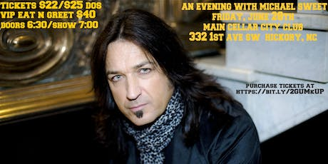 An Evening With Michael Sweet, the Voice of Stryper tickets