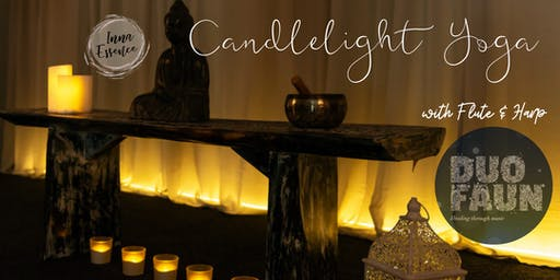 Candlelight Yin Yoga, with Flute & Harp