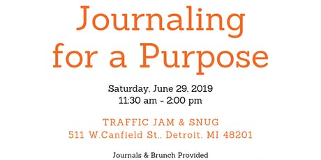 Journaling for a Purpose tickets