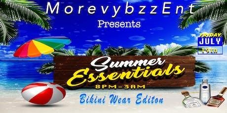 Summer Essentials Pt3 Bikini Edition tickets