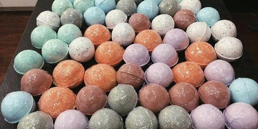 Soaplahoma Bath Bomb Class at FlowerCraft Event Center