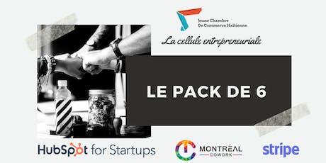 Le Pack de 6-Cellule entrepreneuriale - Jeune Chambre de Commerce Haïtienne billets