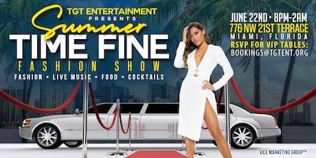 Summer Time Fine '19 tickets
