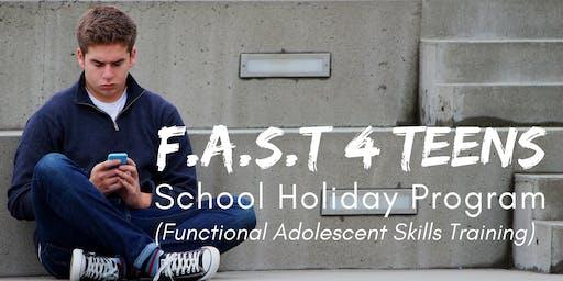 School Holiday Program - Function Adolescence Skills Training