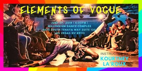 Vogue Workshop tickets