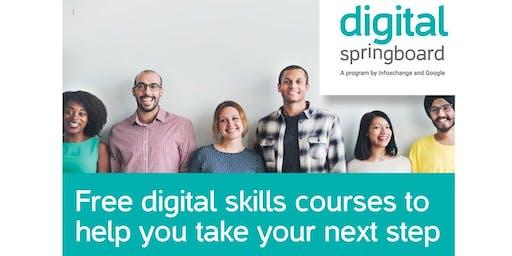 Digital Springboard - Build a CV