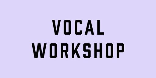 Vocal Workshop with Melissa Gill