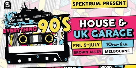 Everything 90's: House & UK Garage (Melb) tickets
