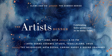 The Dinner Series : Artists tickets