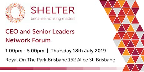 CEO and Senior Leaders Network Forum tickets