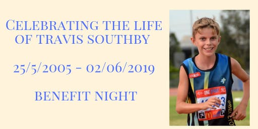Celebrating the life of Travis Southby, Benefit Night