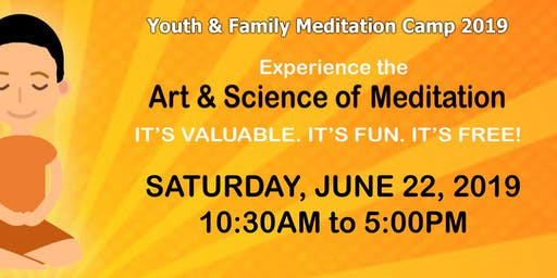 Youth & Family Meditation Camp 2019