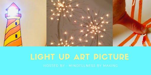 Light Up Picture  Kids Art Workshop