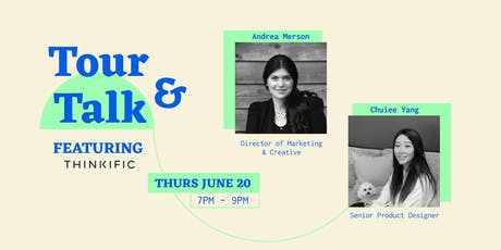 Tour & Talk: Thinkific - The Business of Branding & Knowing Your Value as a Designer tickets