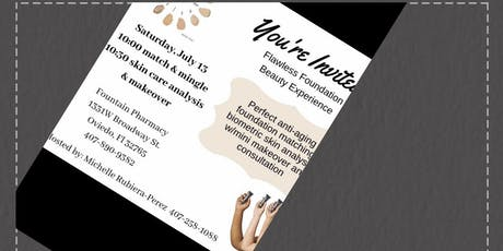 MARY KAY FLAWLESS FOUNDATION BEAUTY EXPERIENCE tickets