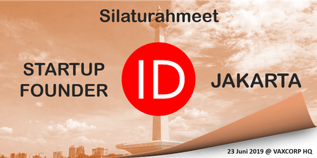 Jakarta Lean Coffee and Silaturahmi ID Startup Founder tickets