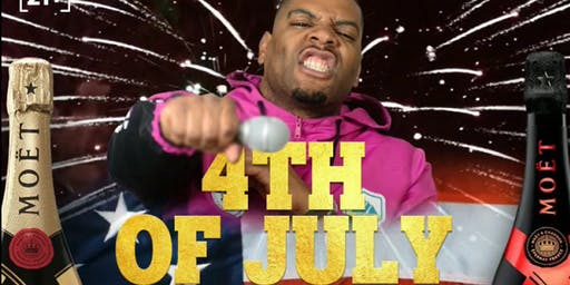 Omar Terell (Hilarious Omar) hosts a 4th of July Day Party w/ DJ Gemini
