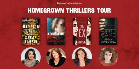 Author Event - Home Grown Thrillers tickets