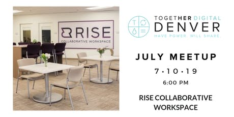 Together Digital Denver July Member+1 Meetup: Peer Power tickets