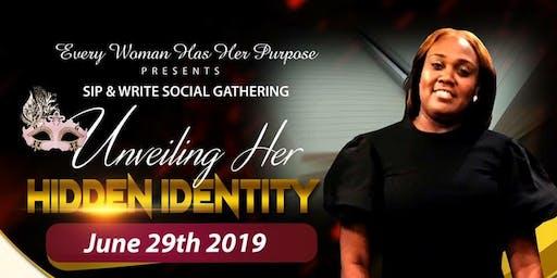 Sip & Write... Unveiling Her Hidden Identity.