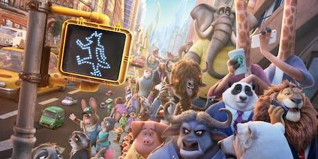 Winter School Holidays: Zootopia Movie (PG) tickets