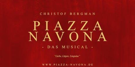 PIAZZA NAVONA --DAS MUSICAL Tickets