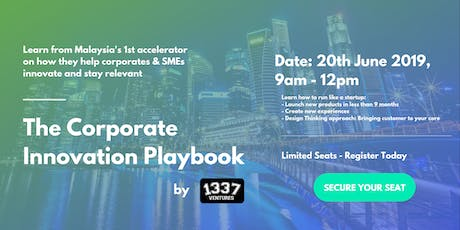 The Corporate Innovation Playbook by 1337 Ventures tickets
