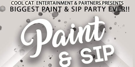 Paint & Sip Music by Cool Cat Entertainment & Partners  tickets