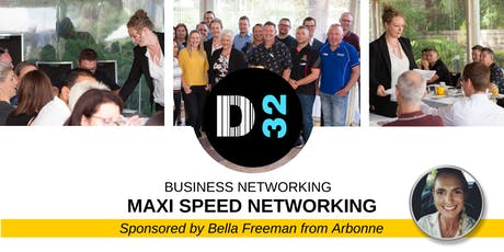 Maxi Speed Networking Event - Friday 05th July - Sponsored by Bella Freeman from Arbonne tickets