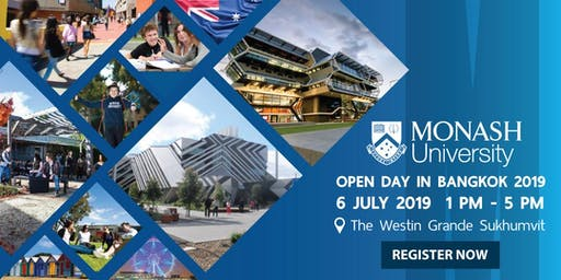 Monash University Open Day 2019