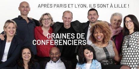 Graines de Conférenciers sur Lille billets