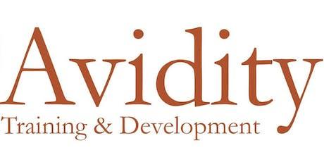Avidity Training and Development: Leadership & Management workshop Hobart tickets