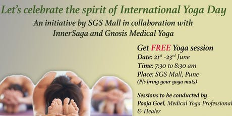 Yoga Day Special tickets