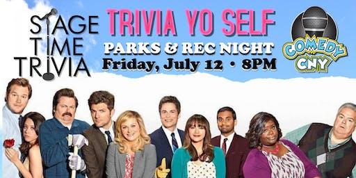 Trivia Yo Self: Parks & Rec Trivia Night