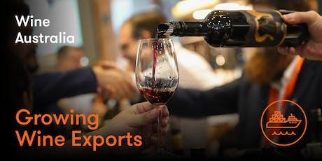 Growing Wine Exports - 2 Day Export Plan Workshop (Hobart) tickets