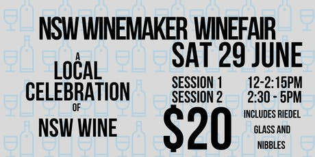 NSW Winemaker Wine Fair  tickets