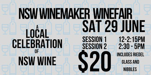 NSW Winemaker Wine Fair