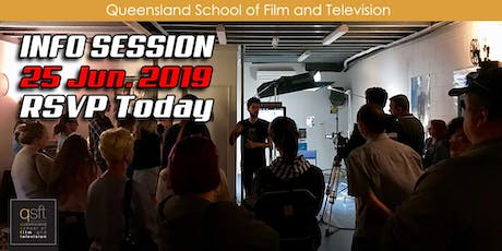 QSFT MEDIA & FILM SCHOOL CAREER INFO SESSION - Tuesday, 25th June 2019 tickets