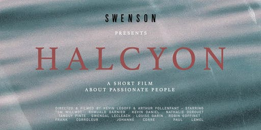 Screening HALCYON - A short film about passionate people
