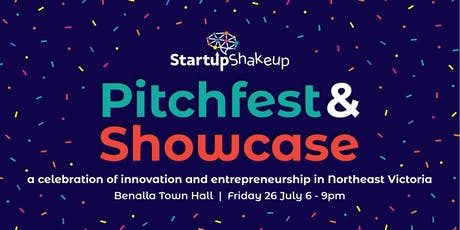 Startup Shakeup Pitchfest and Showcase Celebration tickets