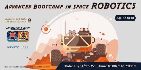 Space Robotics Advanced Bootcamp tickets