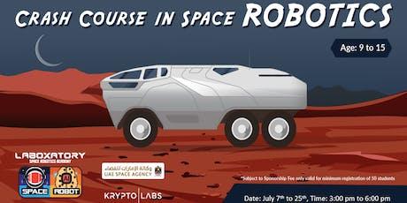 Space Robotics Crash Course tickets