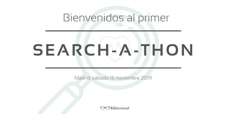 Search-a-thon entradas