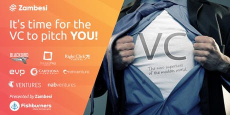 It's time for the VC to pitch you!  tickets