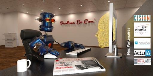 Robot et IA sont-ils les Journalistes d'Aujourd'hui ? #RobotIAMedia