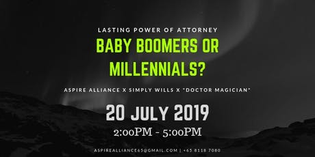 LPA: Baby Boomers or Millennials? tickets