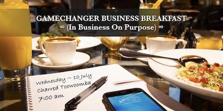 Gamechanger Business Breakfast - Toowoomba tickets
