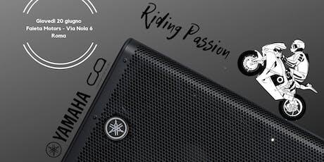 Yamaha, Riding Passion tickets