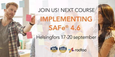 Implementing SAFe® 4.6 with SAFe Program Consultant (SPC4) tickets