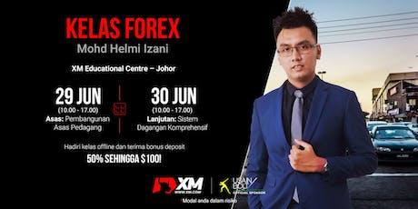 Kelas Offline Hujung Minggu bersama XM Malaysia - Instruktor Helmi Izani tickets